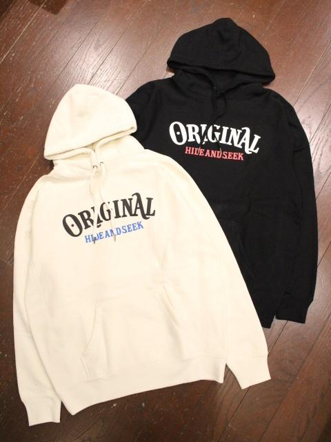 HIDEANDSEEK × TENDERLOIN 「HIDEANDSEEK × TENDERLOIN Hooded Sweatshirt-2」 プルオーバーパーカー