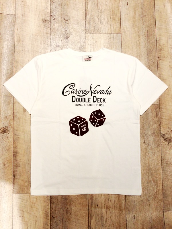 GANGSTERVILLE   「TUMBLING DICE - S/S T-SHIRTS」   プリントティーシャツ