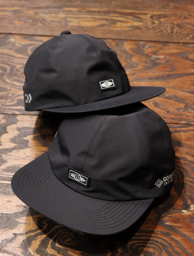 CHALLENGER  「× DAIWA GORE-TEX CAP」  6パネルキャップ