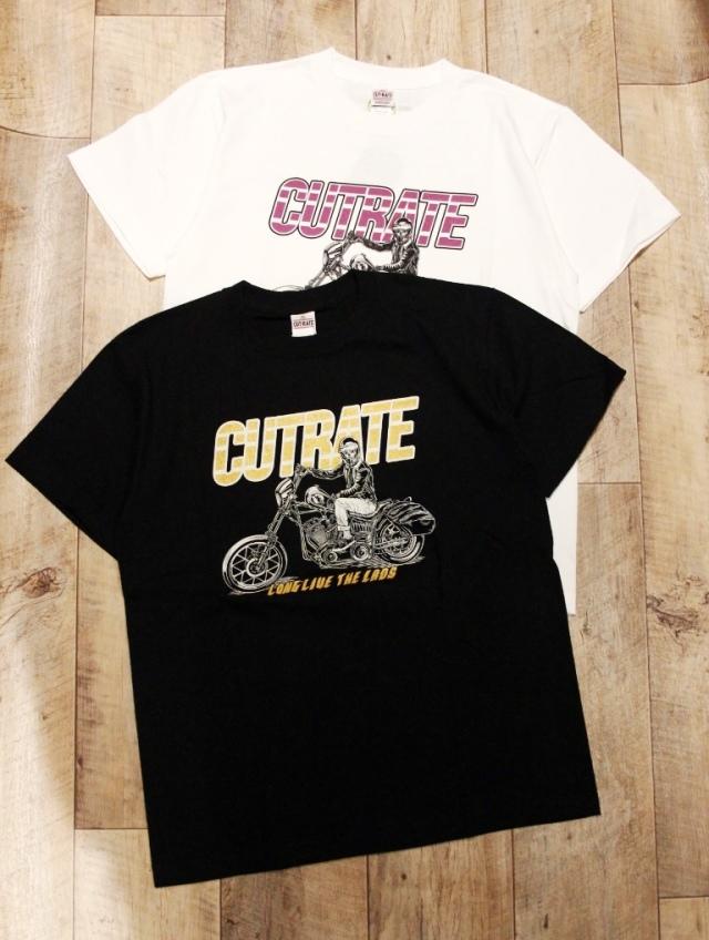 CUT RATE  「BIKE T-SHIRT」 プリントティーシャツ