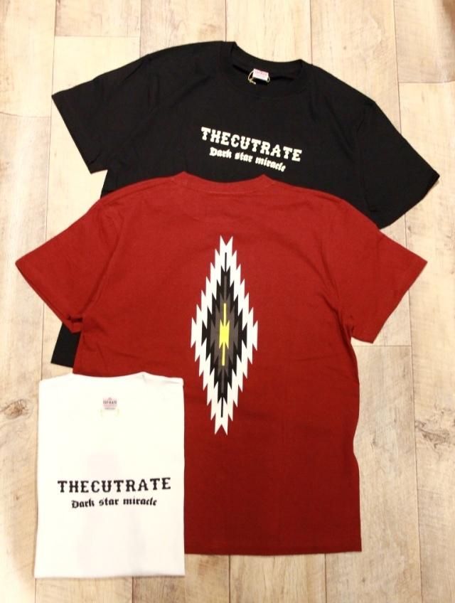 CUT RATE  「NATIVE T-SHIRT」 プリントティーシャツ