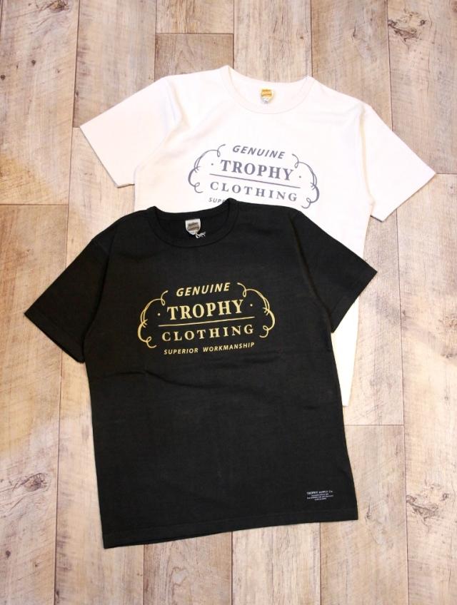 TROPHY CLOTHING  「Rnch Logo OD Crew Tee」 ボリュームコットン ティーシャツ