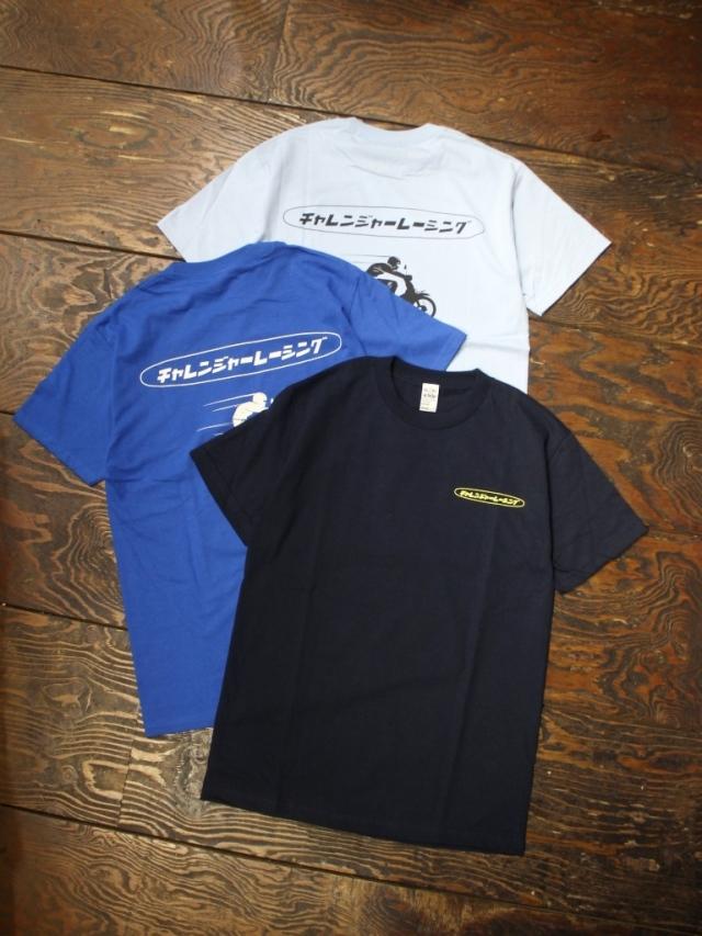 CHALLENGER   「CLGR RACING TEE」  プリントティーシャツ