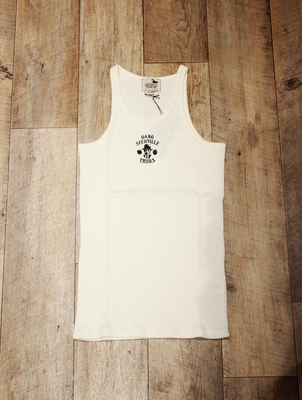 GANGSTERVILLE   「MOVSTER - TANK TOP」   プリントタンクトップ