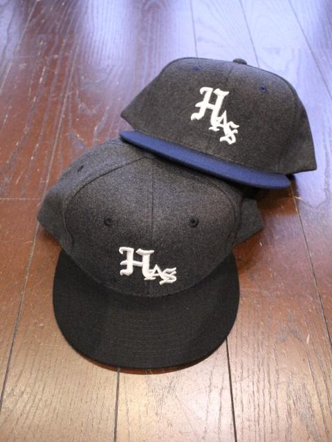 HIDEANDSEEK 「HAS Wool Baseball CAP」 ベースボールキャップ