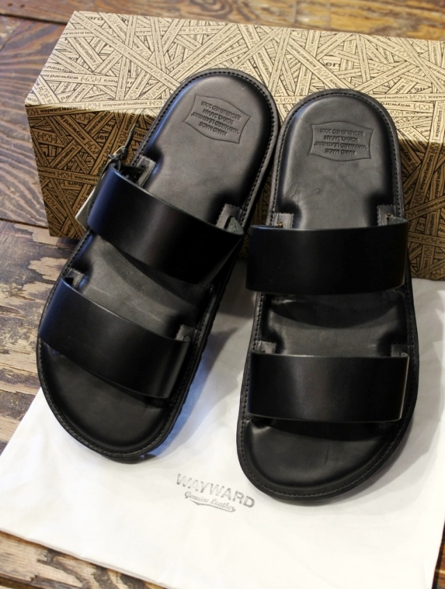 WAYWARD×STEWARDS LANE   「LEATHER SANDALS / LURIE」 レザーサンダル