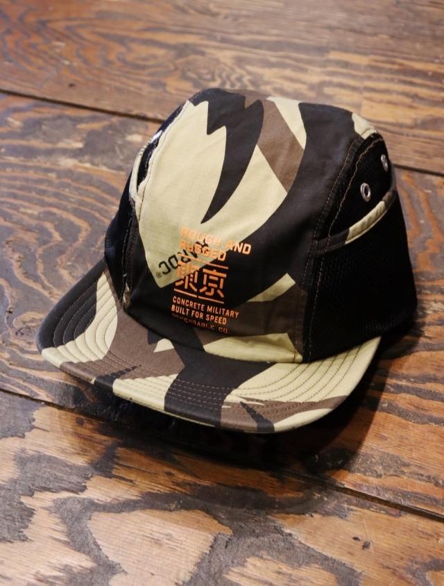 ROUGH AND RUGGED   「DEACON / DESERT 」  ジェットキャップ