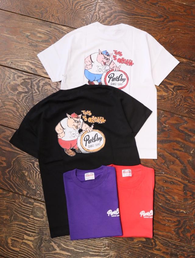 【6月12日 発売!】 PORKCHOP GARAGE SUPPLY   「 THIS IS ORIGINAL TEE 」  プリントティーシャツ