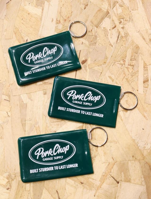 【6月12日 発売!】   PORKCHOP GARAGE SUPPLY   「CARD KEEPER」  ラバーカードケース