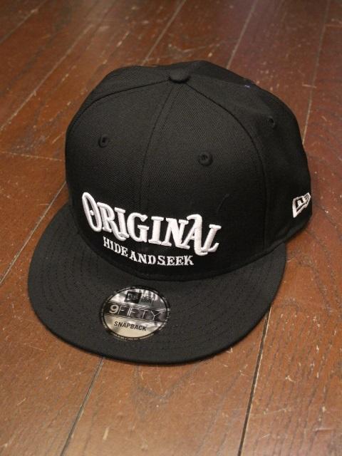 HIDEANDSEEK × TENDERLOIN 「HIDEANDSEEK × TENDERLOIN Baseball CAP(NEWERA)」 ベースボールキャップ