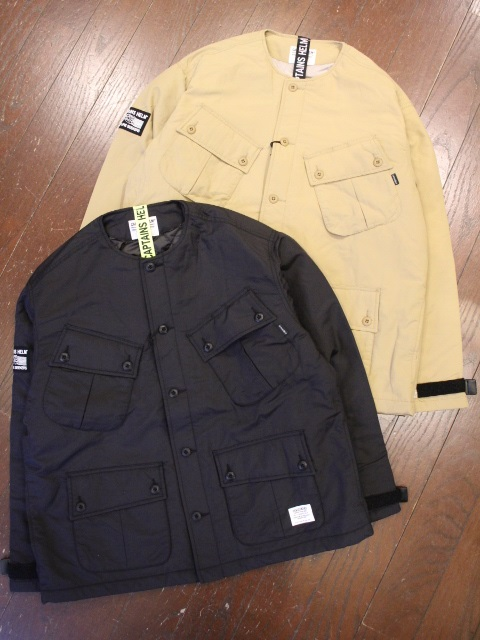 【NEW YEAR ITEM !!】 CAPTAINS HELM   「 #PLEASURE SEEKER OUTDOOR JACKET 」  ノーカラー ジャケット