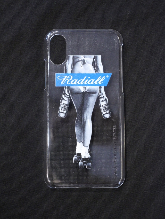 RADIALL  「FOURTY OZ LADY - IPHONE CASE for X/Xs」  iPhone X、Xs ケース