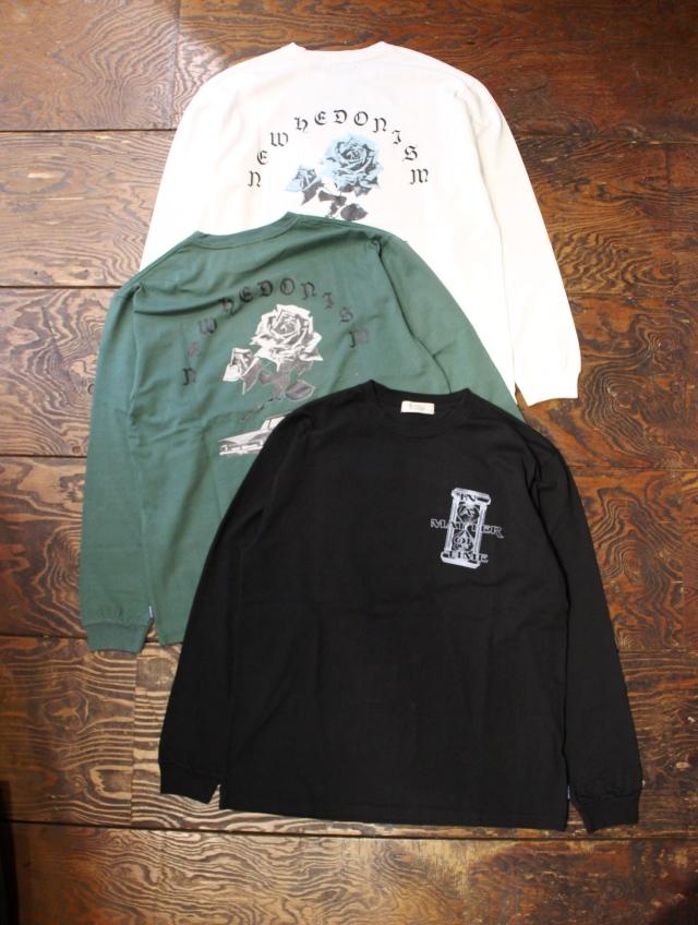 RADIALL    「MATTER - CREW NECK T-SHIRT L/S」 ロングスリーブティーシャツ