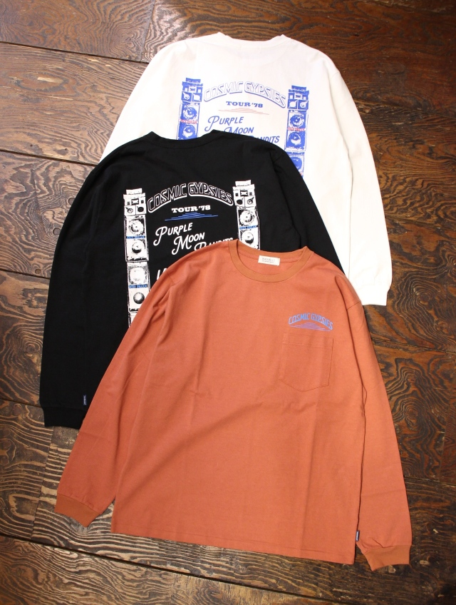 RADIALL    「COSMIC GYPSIES - CREW NECK T-SHIRT L/S」 ロングスリーブティーシャツ