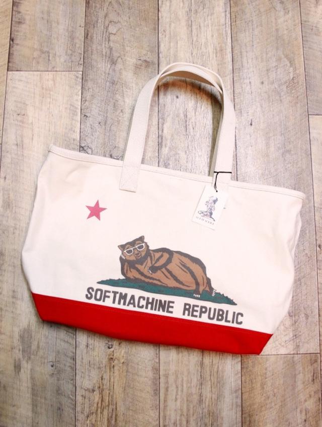 SOFTMACHINE  「CHILLIN' TOTE BAG 」  トートバッグ