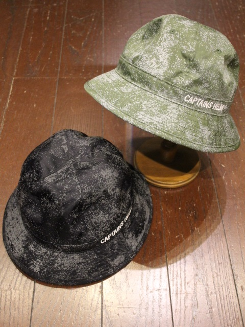 【NEW YEAR ITEM !!】 CAPTAINS HELM   「 #REFLECTIVE BALL HAT 」  ボウルハット