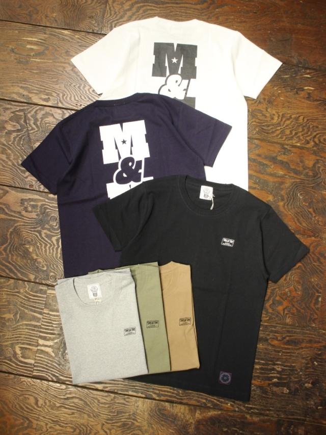M&M CUSTOM PERFORMANCE   「PRINT S/S T-SHIRT (M&M CP)」 プリントティーシャツ