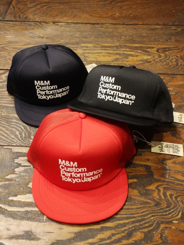 M&M CUSTOM PERFORMANCE   「PRINT MESH CAP (M&M Cusutom Performance Tokyo/Japan)」 メッシュキャップ