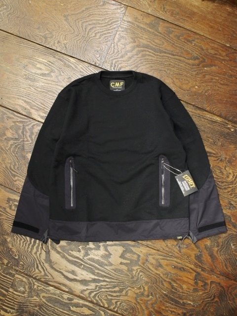 COMFY OUTDOOR GARMENT 「HALF SHELL」 ハーフシェルスウェット