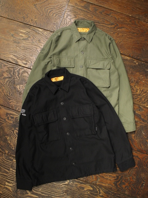 CHALLENGER    「MILITARY DAILY SHIRT」 ミリタリーシャツ