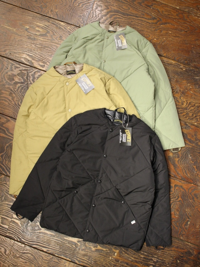 COMFY OUTDOOR GARMENT 「INNER DOWN」 ダウンジャケット