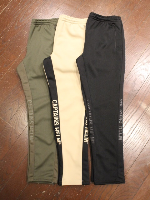 CAPTAINS HELM   「 #SIDE MESH TRACK PANTS 」  トラックパンツ