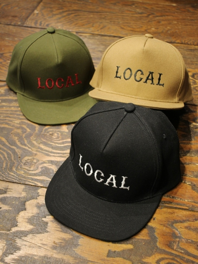 CUT RATE  「LOCAL CANVAS CAP」 トラッカーキャップ