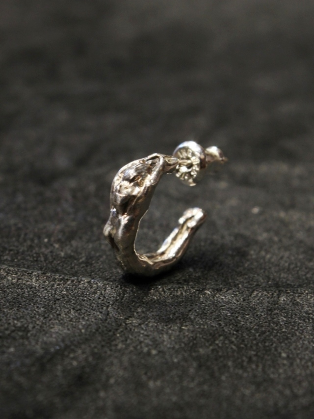 RADIALL  「CHROME LADY - EARRINGS」 SILVER 925製 ピアス