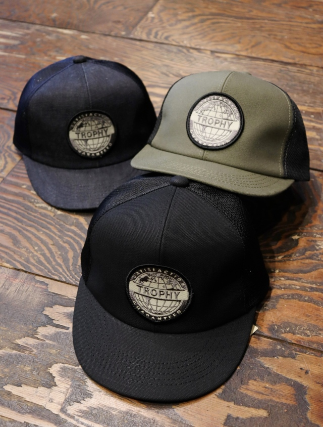TROPHY CLOTHING  「 Earth Logo Work Mesh Cap 」  メッシュキャップ