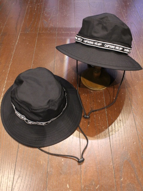 CAPTAINS HELM   「 #ACTIVE WATER-PROOF HAT 」  サファリハット