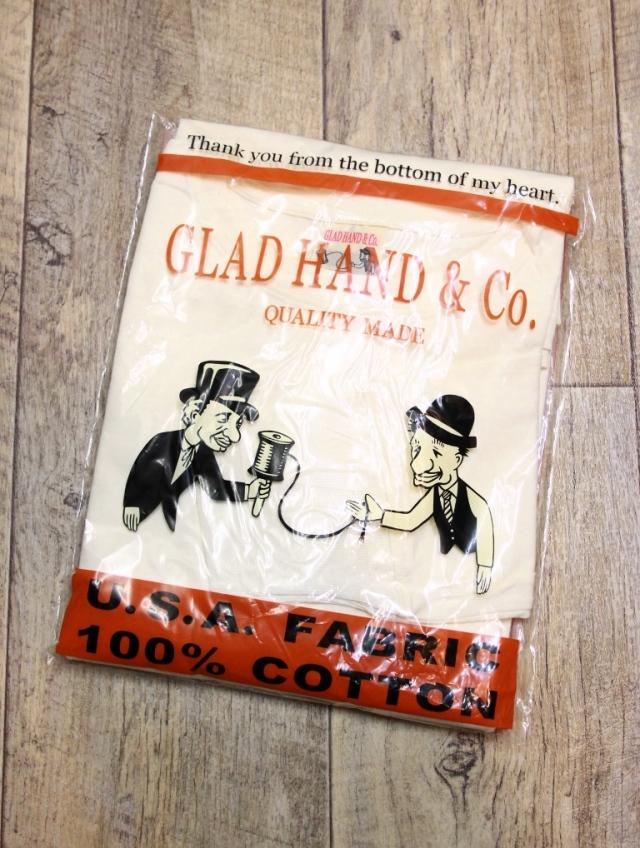 GLAD HAND  「STANDARD POCKET L/S T-SHIRTS」   クルーネックポケットロンティー