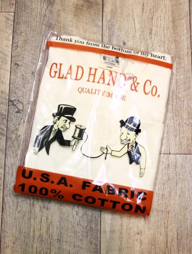GLAD HAND  「STANDARD HENLEY POCKET L/S T-SHIRTS」  ヘンリーネックポケットロンティー