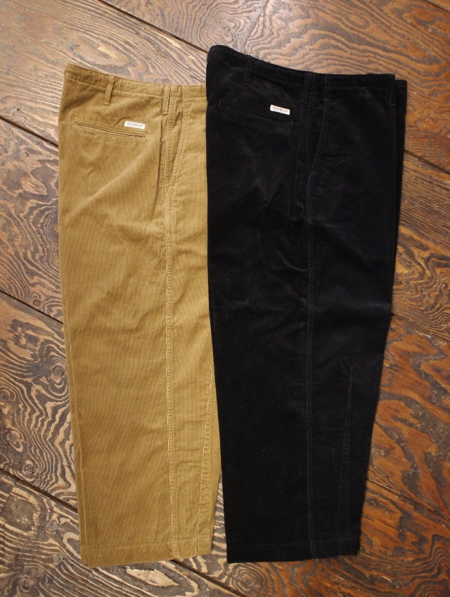 COOTIE  「Corduroy Drawstring Easy Pants」 コーデュロイ イージーパンツ