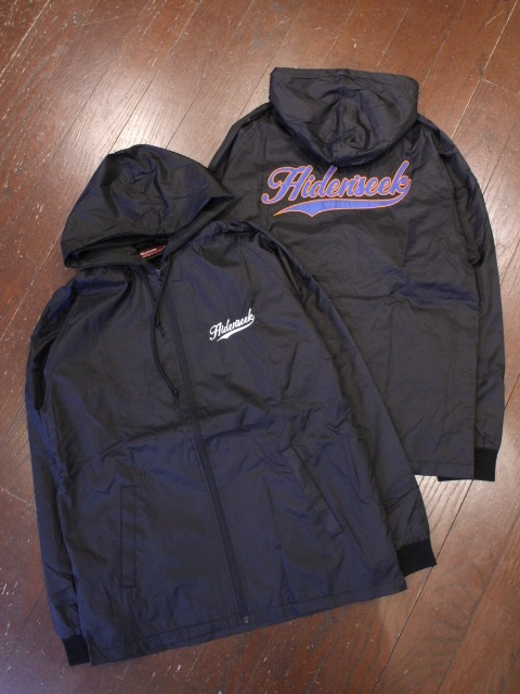 HIDEANDSEEK 「Nylon Zip Hooded」 ナイロンフードジャケット