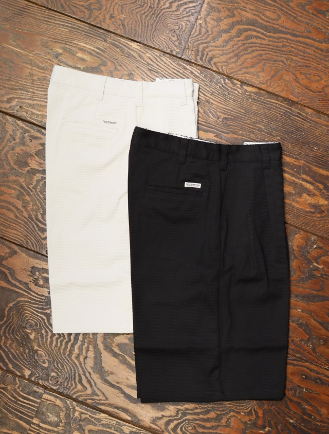 COOTIE  「Kersey 2 Tuck Wide Shorts」 2タックワイドショーツ