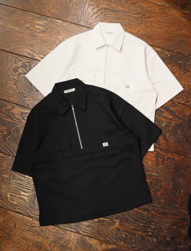 COOTIE  「Kersey Pullover S/S Work Jacket」 プルオーバージャケット