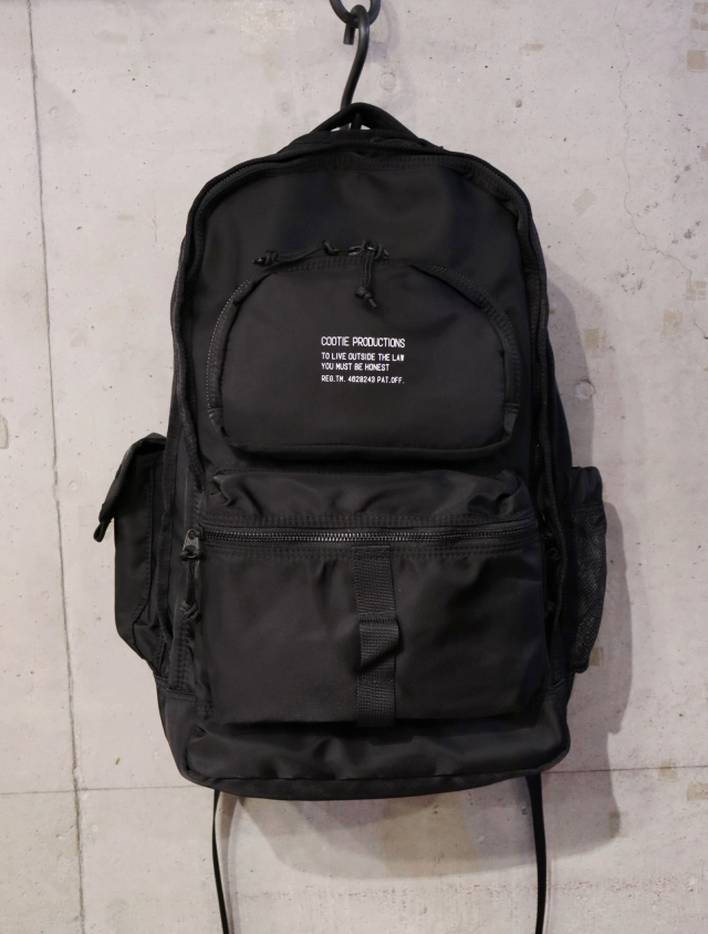 COOTIE   「 Nylon Backpack 」 ナイロンバックパック