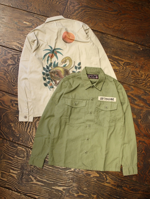 SOFTMACHINE  「FORESTA SHIRTS」 ミリタリーシャツ