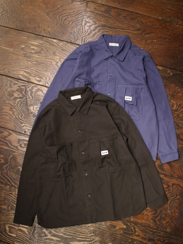 RADIALL  「STEP SIDE - REGULAR COLLARED SHIRT L/S」  レギュラーカラーワークシャツ