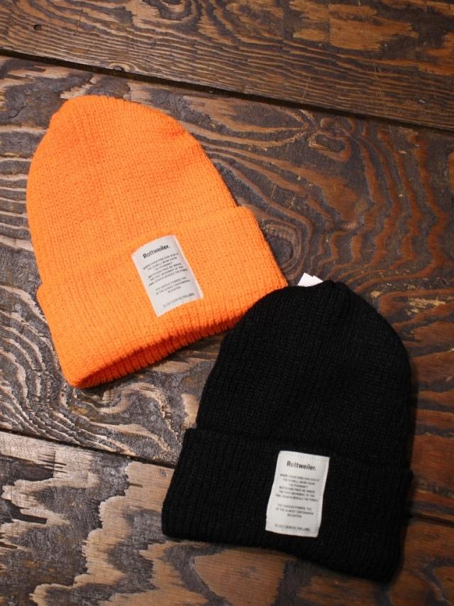 ROTTWEILER   「 Name BRONER Knit Cap  」  ニットキャップ