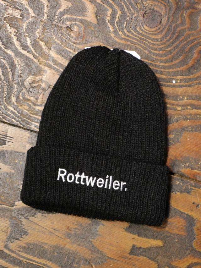 ROTTWEILER   「 R.W BRONER Knit Cap  」  ニットキャップ