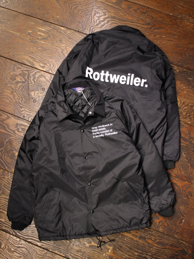 ROTTWEILER  「Coaches Windbreaker 」  コーチジャケット
