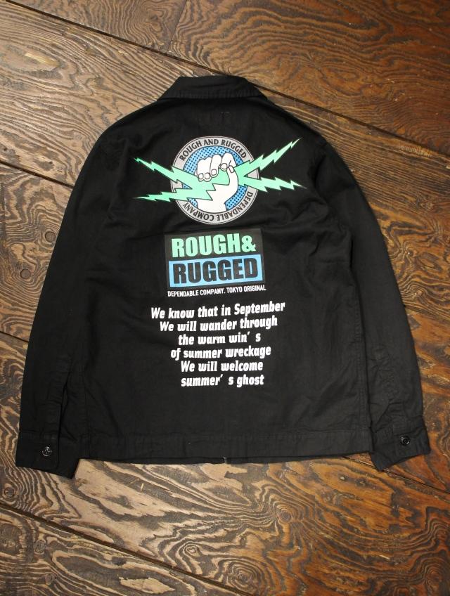 ROUGH AND RUGGED  「GASOLINE 」  ドリズラージャケット
