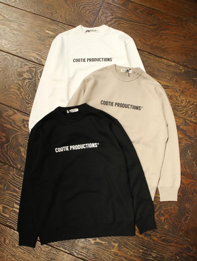 COOTIE  「Print Crewneck Sweatshirt (COOTIE LOGO)」 クルーネックスウェット