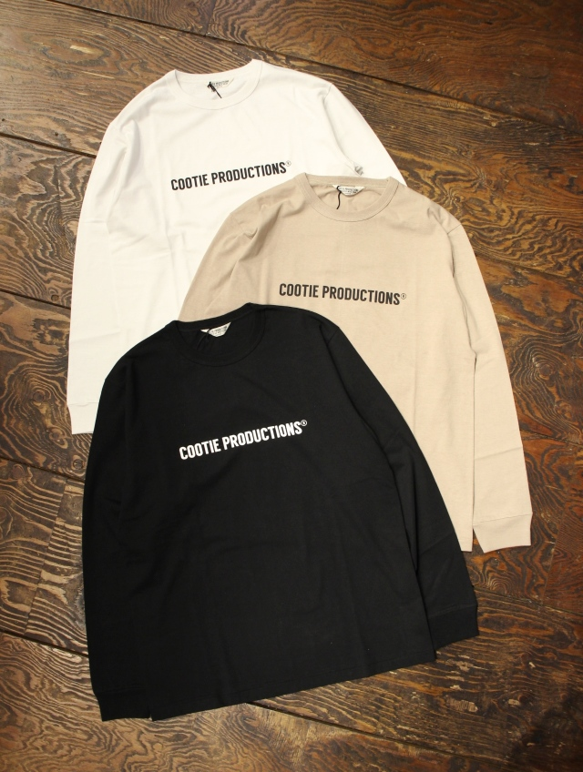 COOTIE  「Print L/S Tee (COOTIE LOGO)」 プリントロンティー