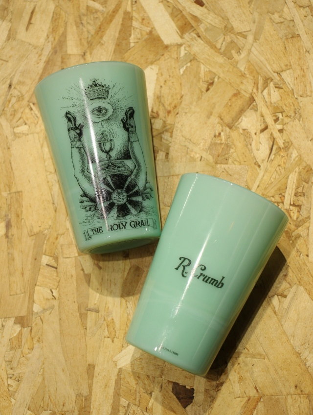 COOTIE   「 Tea House Tumbler (THE HOLY GRAIL) 」 オールドミルクグラス