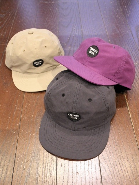 CAPTAINS HELM   「 #OUTDOOR WAPPEN CAP 」  キャンプキャップ