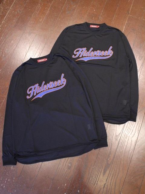 HIDEANDSEEK 「Mesh Baseball L/S Shirt」 ベースボールティーシャツ
