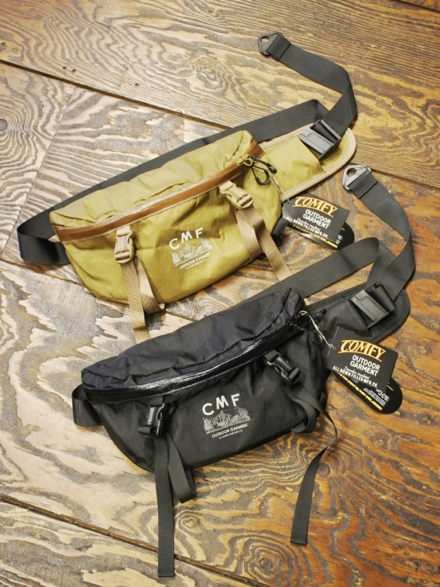 COMFY OUTDOOR GARMENT   「WAIST BAG XPAC」 ウエストバッグ