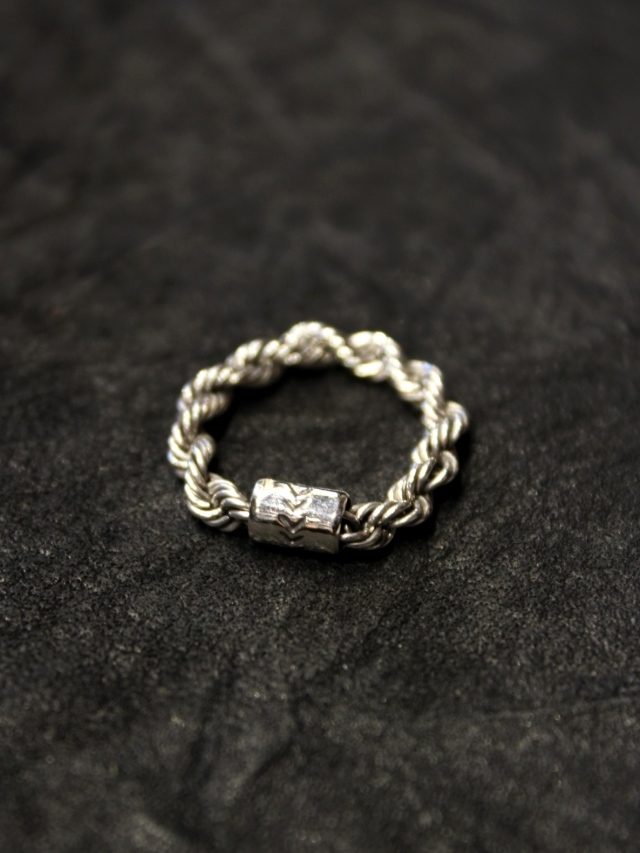 RADIALL  「TWIST - PINKY RING / NARROW」 SILVER 925製 ピンキーリング